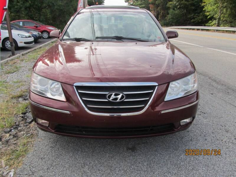 2009 Hyundai Sonata for sale at Mid - Way Auto Sales INC in Montgomery NY