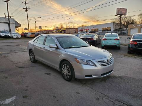 2008 Toyota Camry for sale at Green Ride Inc in Nashville TN