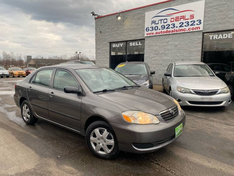 2008 Toyota Corolla for sale at Auto Deals in Roselle IL