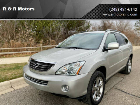 2006 Lexus RX 400h for sale at R & R Motors in Waterford MI