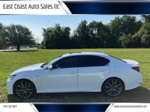 2015 Lexus GS 350 for sale at East Coast Auto Sales llc in Virginia Beach VA
