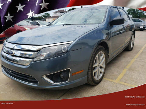 2011 Ford Fusion for sale at Best Royal Car Sales in Dallas TX