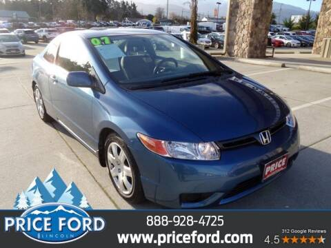 2007 Honda Civic for sale at Price Ford Lincoln in Port Angeles WA