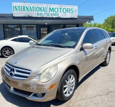 2007 Mercedes-Benz R-Class for sale at International Motors Inc. in Nashville TN