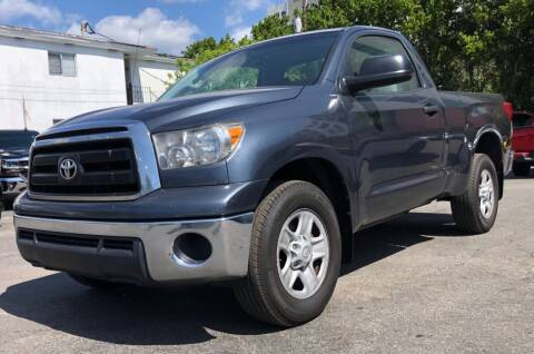 2010 Toyota Tundra for sale at Meru Motors in Hollywood FL