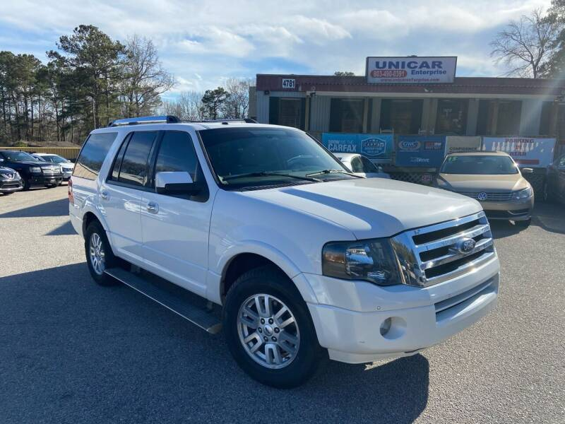 2013 Ford Expedition for sale at Unicar Enterprise in Lexington SC