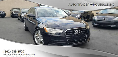 2012 Audi A6 for sale at Auto Trader Wholesale Inc in Saddle Brook NJ