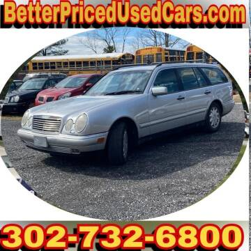 1999 Mercedes-Benz E-Class for sale at Better Priced Used Cars in Frankford DE