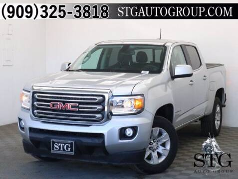 2016 GMC Canyon for sale at STG Auto Group in Montclair CA