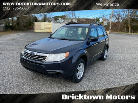 2010 Subaru Forester for sale at Bricktown Motors in Brick NJ
