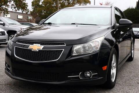2013 Chevrolet Cruze for sale at Prime Auto Sales LLC in Virginia Beach VA
