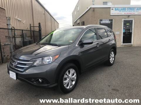2014 Honda CR-V for sale at Ballard Street Auto in Saugus MA