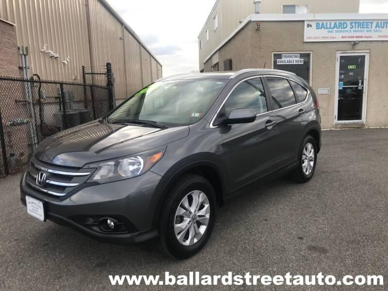 2014 Honda CR-V for sale at Ballard Street Auto in Saugus MA