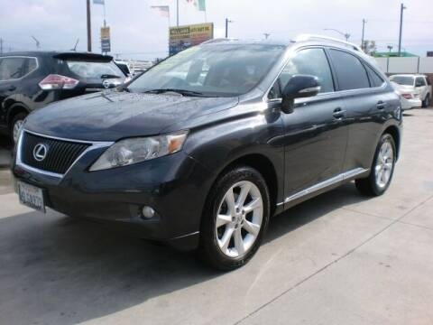 2010 Lexus RX 350 for sale at Williams Auto Mart Inc in Pacoima CA