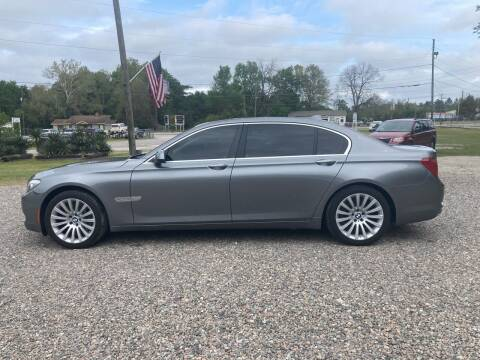 2012 BMW 7 Series for sale at Joye & Company INC, in Augusta GA