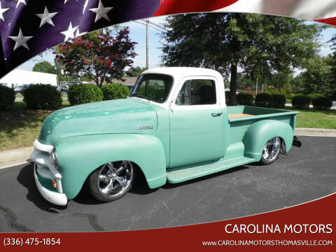 1954 Chevrolet J54 for sale at CAROLINA MOTORS in Thomasville NC