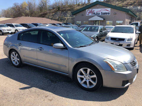 2007 Nissan Maxima for sale at Gilly's Auto Sales in Rochester MN