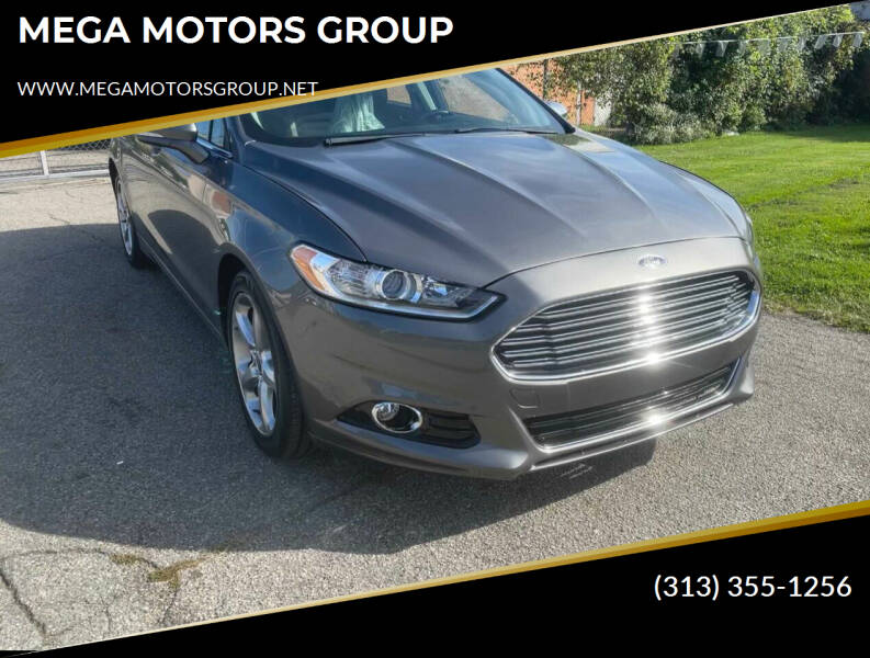 2013 Ford Fusion for sale at MEGA MOTORS GROUP in Redford MI