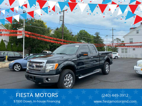 2014 Ford F-150 for sale at FIESTA MOTORS in Hagerstown MD
