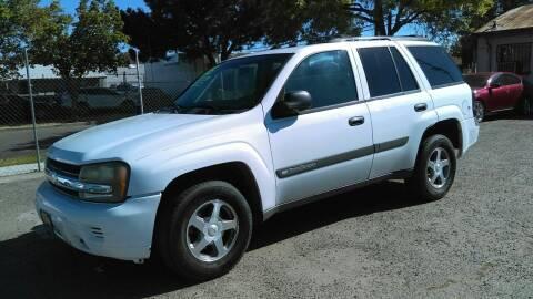 2004 Chevrolet TrailBlazer for sale at Larry's Auto Sales Inc. in Fresno CA
