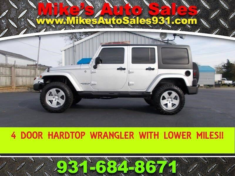 2008 Jeep Wrangler Unlimited for sale at Mike's Auto Sales in Shelbyville TN