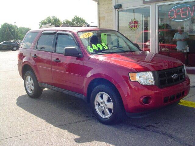 2012 Ford Escape for sale at G & L Auto Sales Inc in Roseville MI
