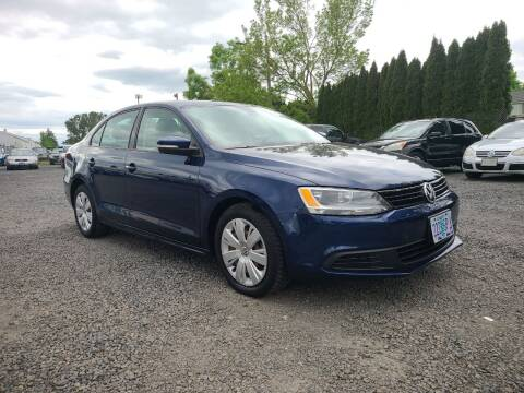 2012 Volkswagen Jetta for sale at Universal Auto Sales in Salem OR