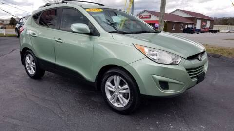 2011 Hyundai Tucson for sale at Moores Auto Sales in Greeneville TN