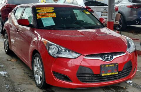 2015 Hyundai Veloster for sale at ALL CREDIT AUTO SALES in San Jose CA