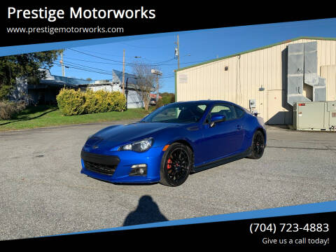 2015 Subaru BRZ for sale at Prestige Motorworks in Concord NC