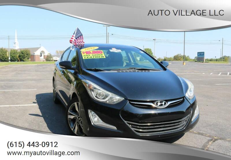 2016 Hyundai Elantra for sale at AUTO VILLAGE LLC in Lebanon TN