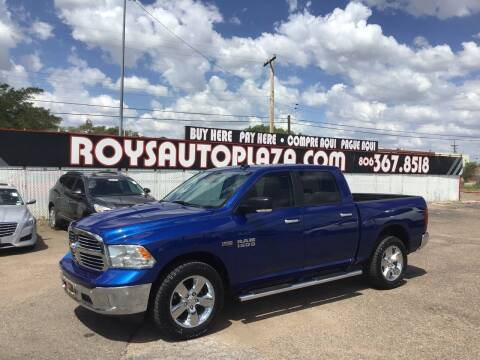 2016 RAM Ram Pickup 1500 for sale at Roy's Auto Plaza 2 in Amarillo TX