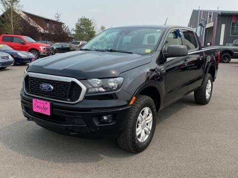 2019 Ford Ranger for sale at Snyder Motors Inc in Bozeman MT
