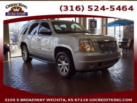 2013 GMC Yukon for sale at Credit King Auto Sales in Wichita KS