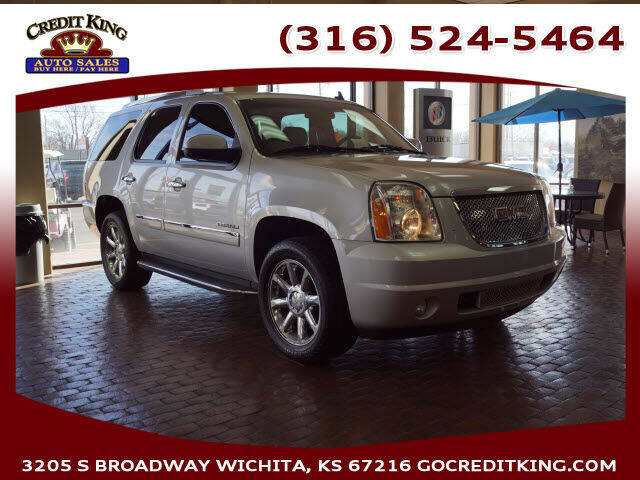 2013 GMC Yukon for sale at Credit King Auto Sales in Wichita KS