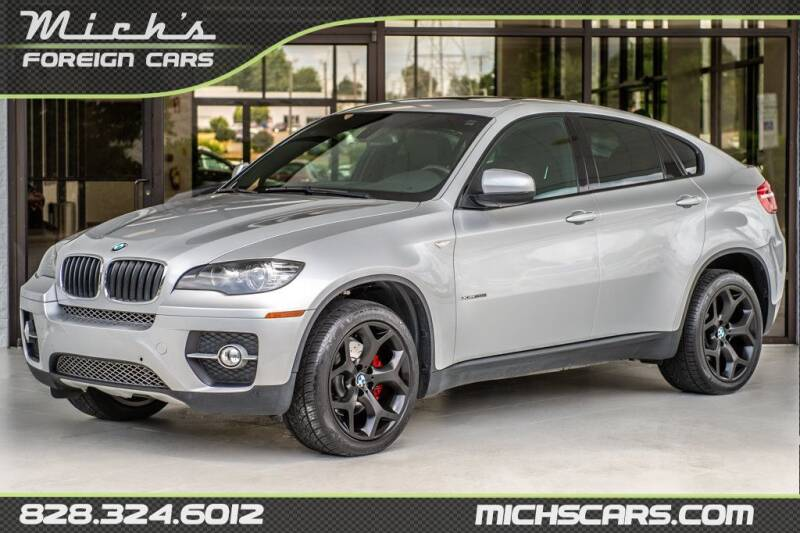 2010 BMW X6 for sale at Mich's Foreign Cars in Hickory NC