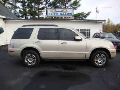 2007 Mercury Mountaineer for sale at G and G AUTO SALES in Merrill WI