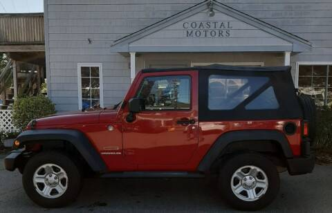 2011 Jeep Wrangler for sale at Coastal Motors in Buzzards Bay MA