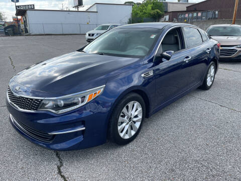 2016 Kia Optima for sale at East Memphis Auto Center in Memphis TN
