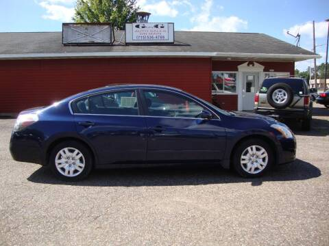 2011 Nissan Altima for sale at G and G AUTO SALES in Merrill WI