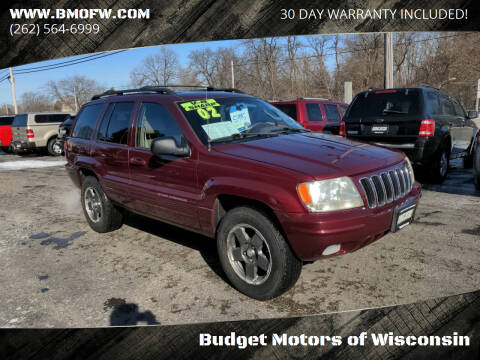 2002 Jeep Grand Cherokee for sale at Budget Motors of Wisconsin in Racine WI