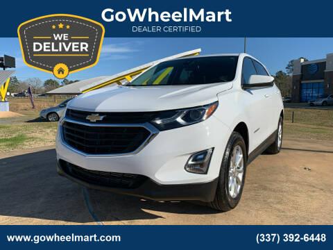 2020 Chevrolet Equinox for sale at GoWheelMart in Leesville LA