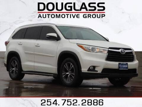 2016 Toyota Highlander for sale at Douglass Automotive Group in Central Texas TX