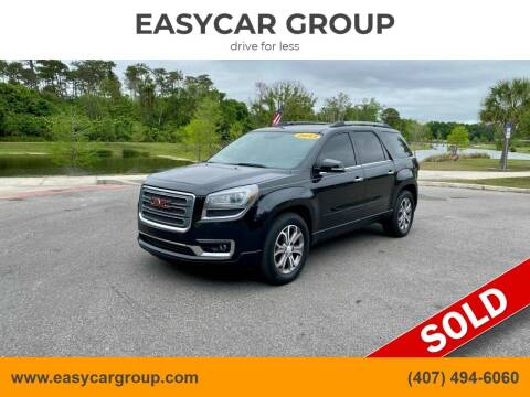 2013 GMC Acadia for sale at EASYCAR GROUP in Orlando FL