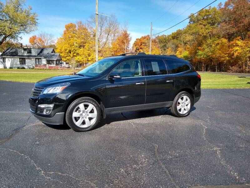 2017 Chevrolet Traverse for sale at Depue Auto Sales Inc in Paw Paw MI