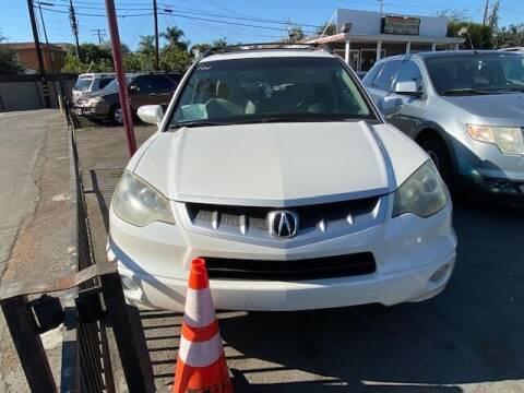 2007 Acura RDX for sale at Affordable Auto Inc. in Pico Rivera CA
