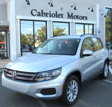 2017 Volkswagen Tiguan for sale at Cabriolet Motors in Morrisville NC