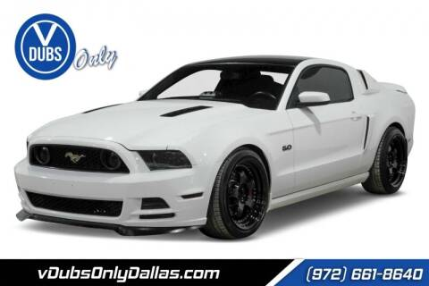2013 Ford Mustang for sale at VDUBS ONLY in Dallas TX