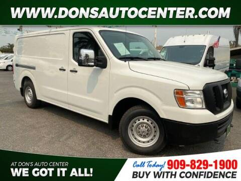 2015 Nissan NV Cargo for sale at Dons Auto Center in Fontana CA