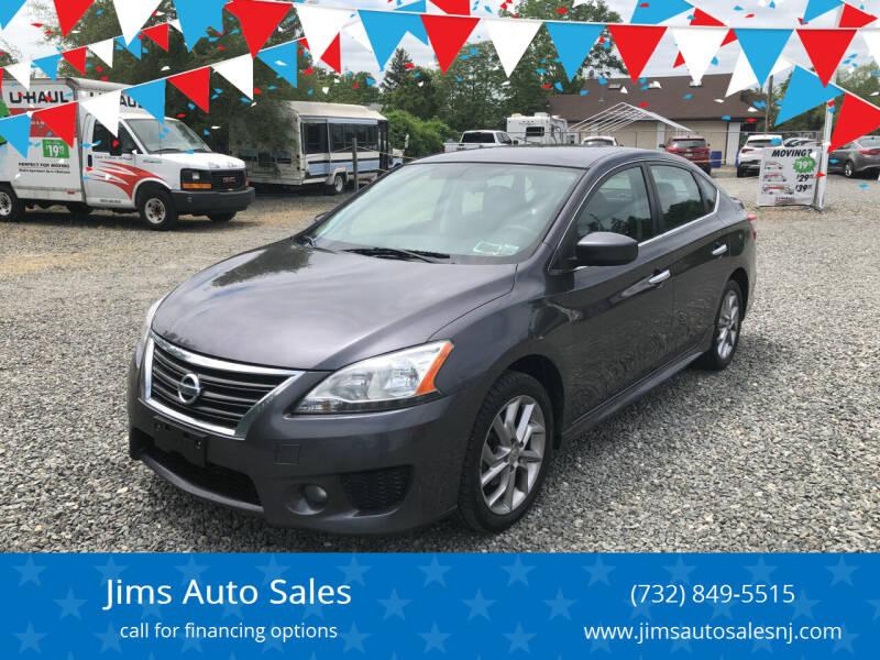 2014 Nissan Sentra for sale at Jims Auto Sales in Lakehurst NJ